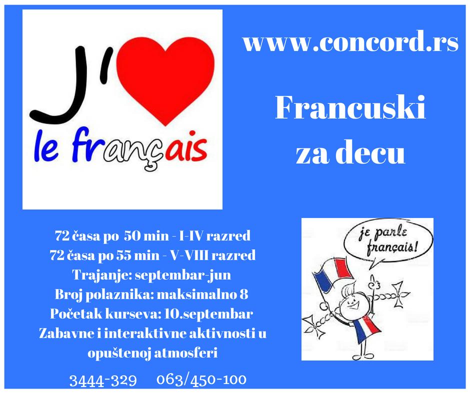 francuski za decu